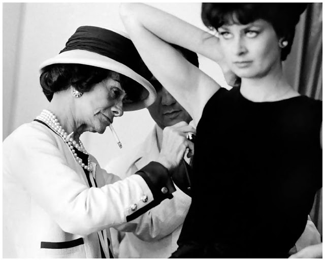 Chanel all'opera. Foto by Douglas Kirkland