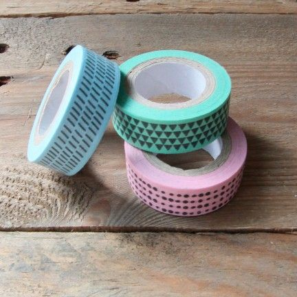 Washi Tape di Mr. Wonderful