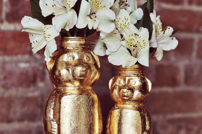 Vasi Orsacchiotto golden-style: Scopri il Tutorial di A Beautiful Mess