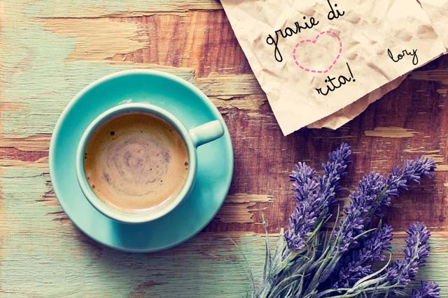 Un Caffè con Rita