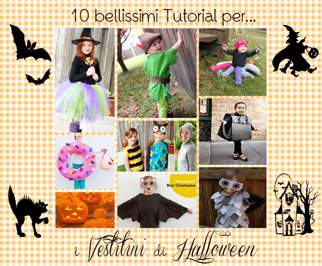20 Tutorial per Vestitini di Halloween