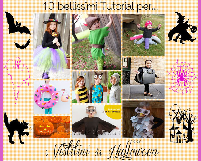 10 tutorial per fare i tuoi Vestitini di Halloween