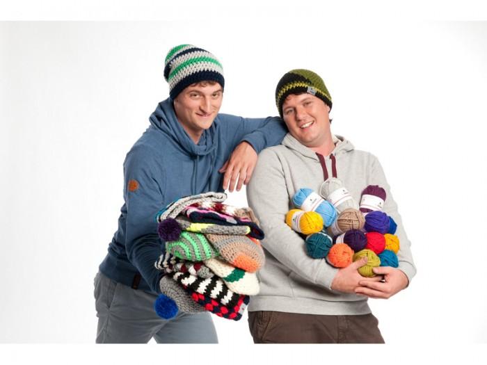 "Thomas e Felix, i ""Ragazzi MyBoshi"" (Fonte: www.schoenstricken.de)"