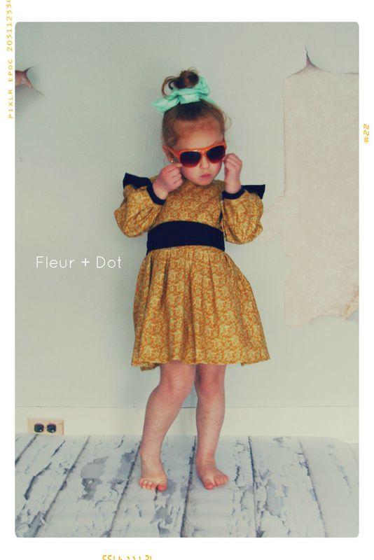 Vestitino per Bimba di FleurandDot (negozio Etsy)