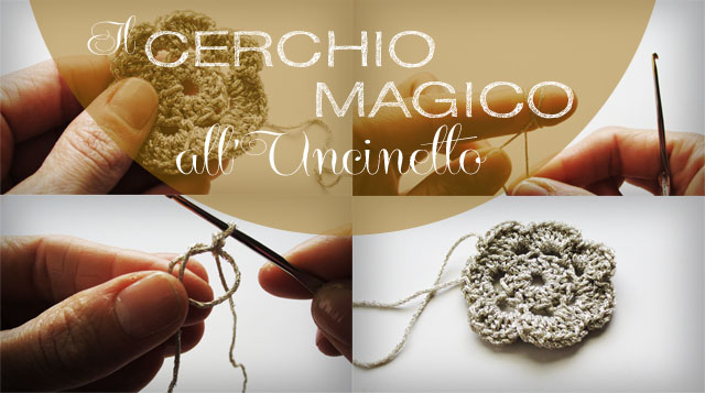 Cerchio Magico Alluncinetto O Anello Magico O Magic Ring