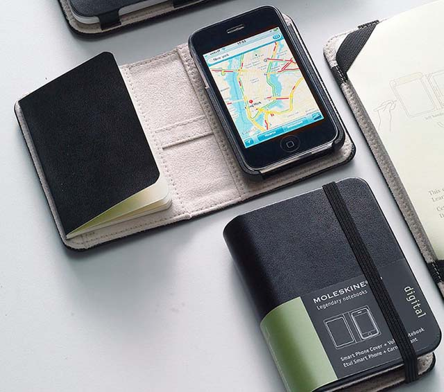 Moleskine Cover per IPhone 3G y 3GS (da 50€ a 10€ circa)