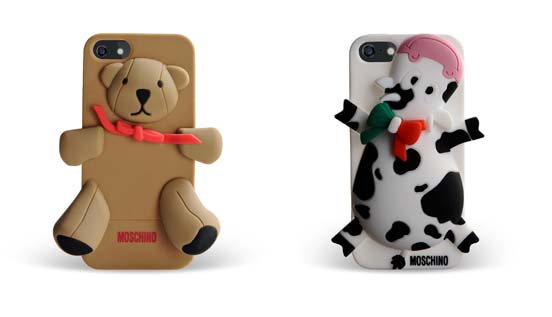 Moskino Cover per IPhone Orso e Mucca (55€ e 63€)