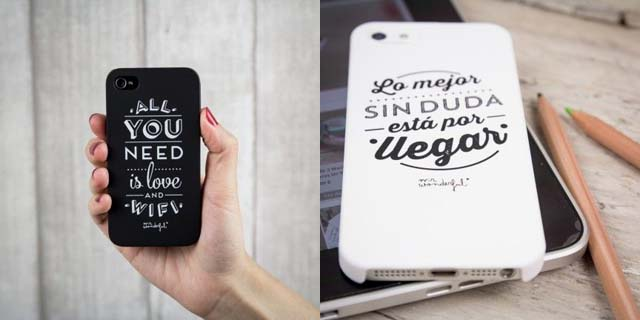 MrWonderful Shop: Cover per IPhone  5 e 5s (la Nera) e 4 e 4s (la bianca)