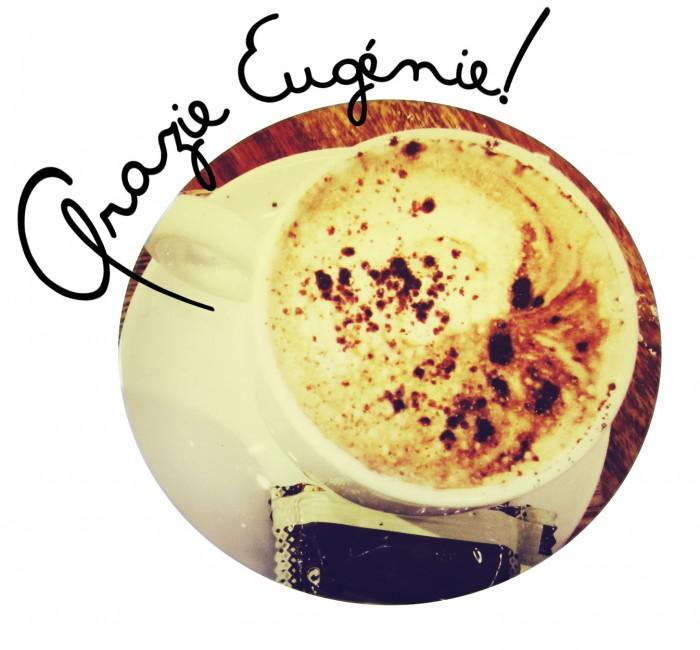 cappuccino per Eugenie