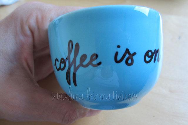 la tua tazza ora è unica e personalizzata