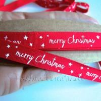 con scritta merry christmas