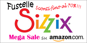 Banner Sale Sizzix su amazon.com