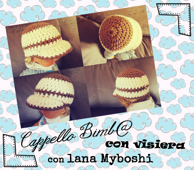 Cappello con Visiera Tutorial step by step