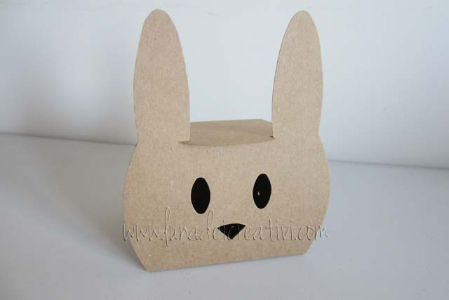 Rabbit shaped gift box 2217-S