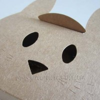 Rabbit shaped gift box 2217-SRabbit shaped gift box 2217-S