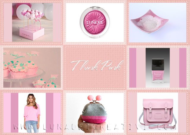 Moodboard Think pink