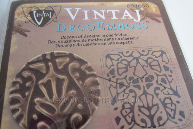 Fustelle DecoEmboss Vintaj DecoMotif