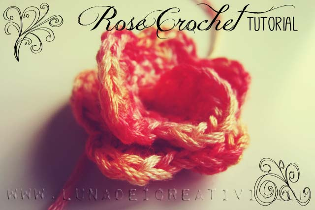 Tutorial Rosa a Crochet