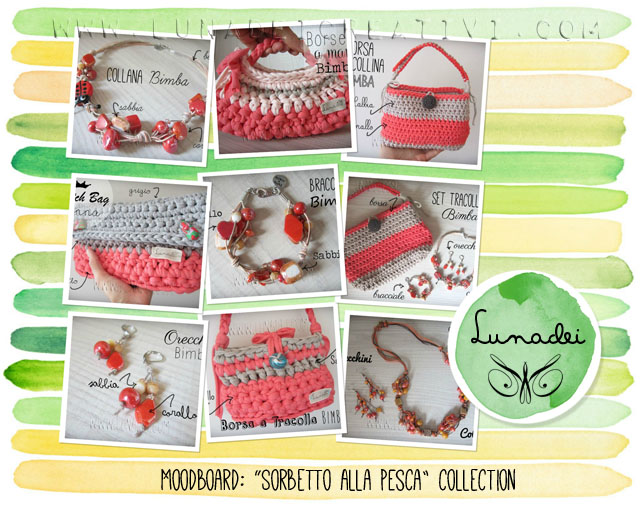 Moodboard: Sorbetto alla Pesca Collection by Lunadei