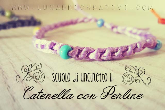 Catenella con Perline: come si fa?