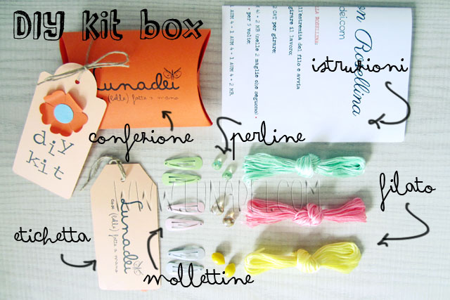 DIY_Kit_Box_Coppia_Mollettine_Rosellina e Perline