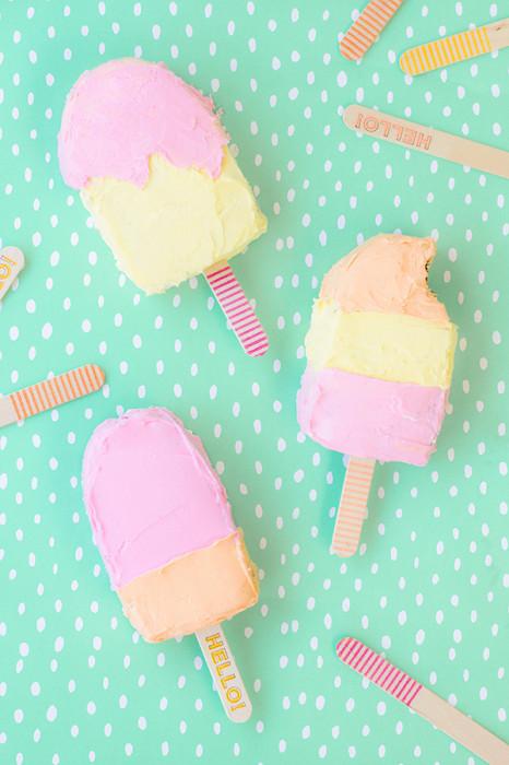 Pop-Cake con forma di ghiacciolo - Fonte Studio DIY