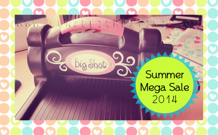 Sizzix Summmer Mega Sale 2014