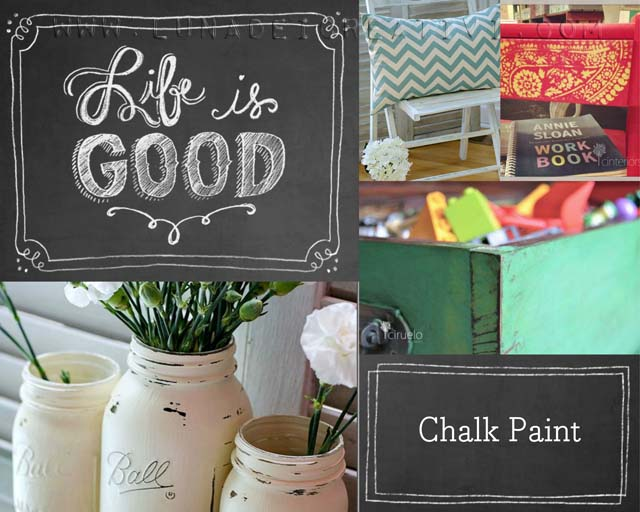 Tutorial Pittura Shabby Chic : Pittura chalk paint cos è lunadei creativi