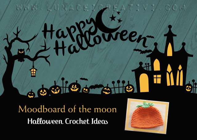 Moodboard of the moon: 12 Halloween Crochet Tutorials