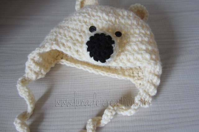 Cappello da Orso a Crochet