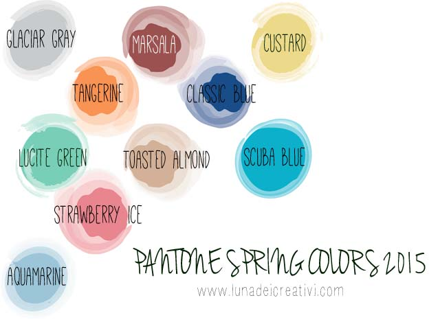 PANTONE Spring Colors 2015