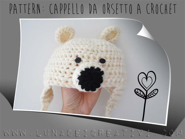 cappello orsetto Tutorial di crochet - FREE Pattern