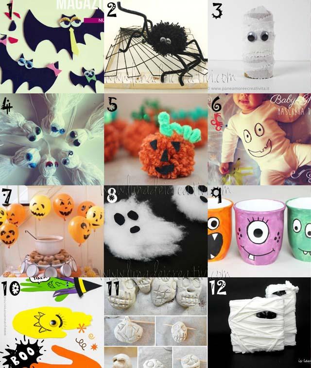 Halloween e Lavoretti per Bambini: 12 idee