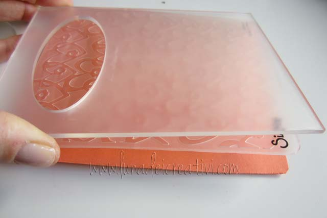 Fustelle Textured Impressions e Embossing Diffuser