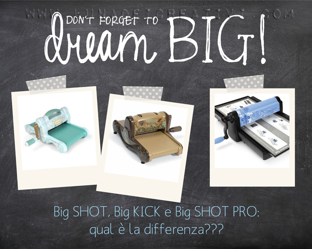 copertina big shot big kick e big shot pro