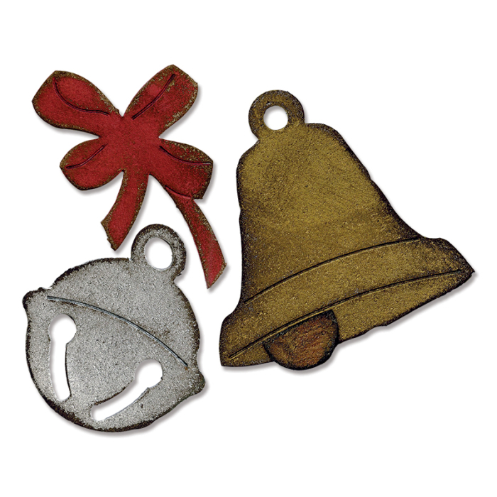 fustelle natalizie (christmas bell 2)
