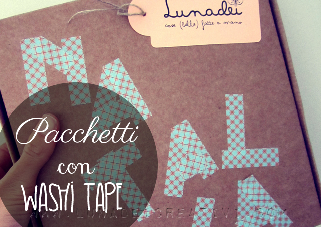 Washi Tape Packaging Ideas