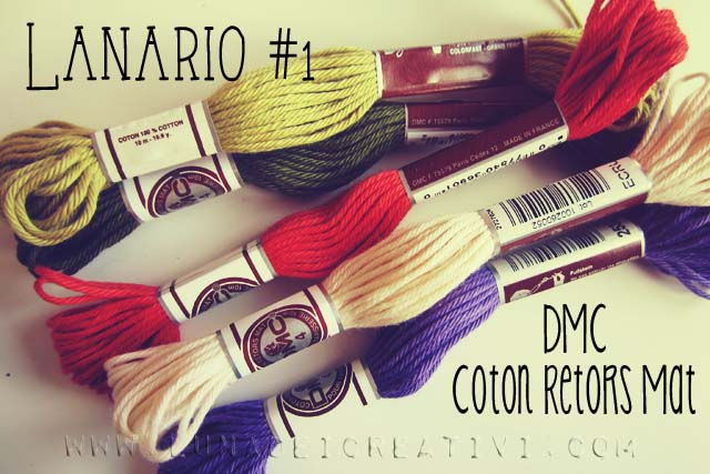 DMC Coton Retors Mat