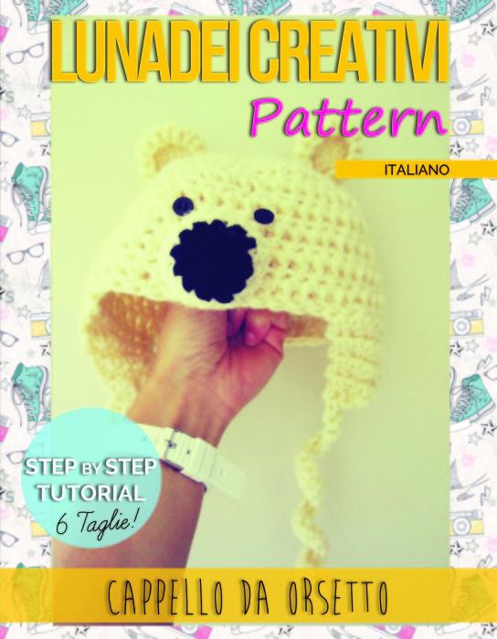 Tutorial in pdf per fare il Cappello da Orso per Adulti, Bimbi e Poppanti!