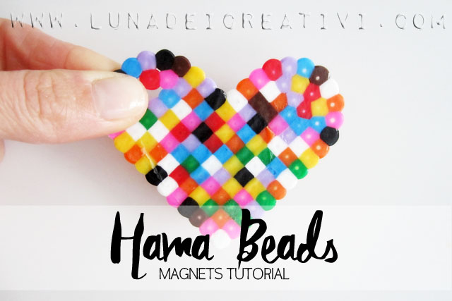 Hama Beads Magnets Tutorial