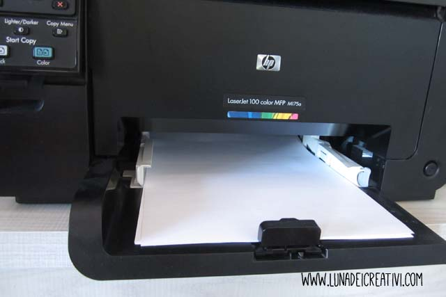Stampa le tue etichette adesive