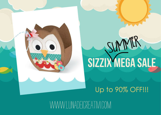 Sizzix Mega Sale SUMMER 2015