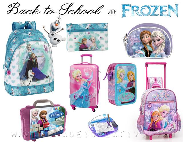 Frozen Zaino Scuola