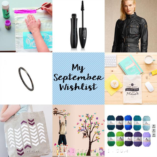 wishlist di settembre
