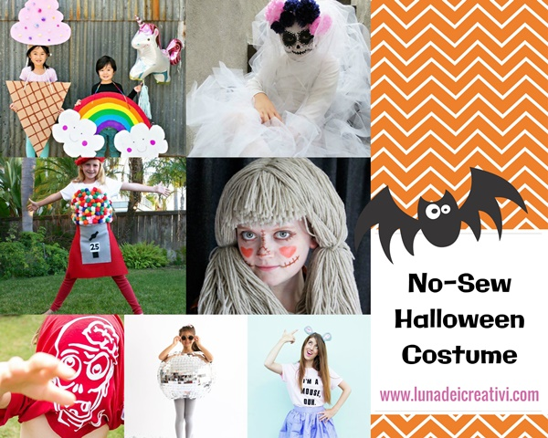 Week-end Creativo: Costumi per Halloween da NON CUCIRE!
