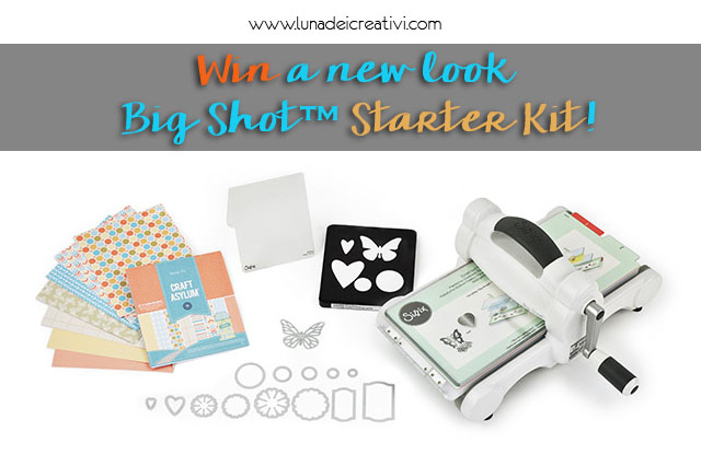 Win a new look Big Shot Starter Kit!