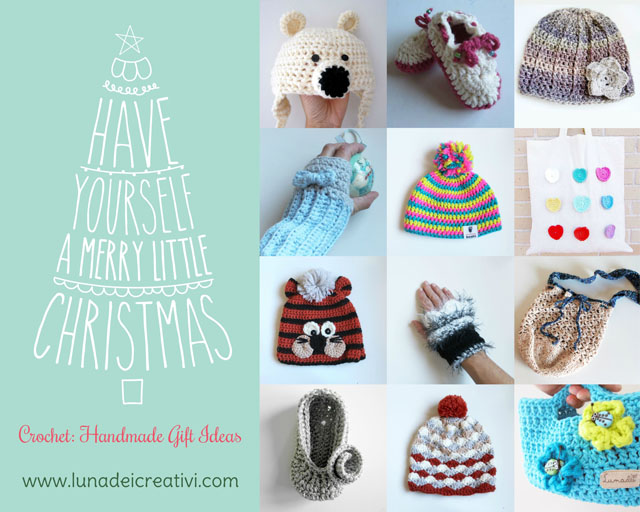Tutorial Di Uncinetto 31 Idee Regalo Per Natale Lunadei Creativi