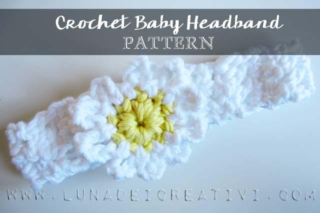 copertina fascia capelli baby pattern