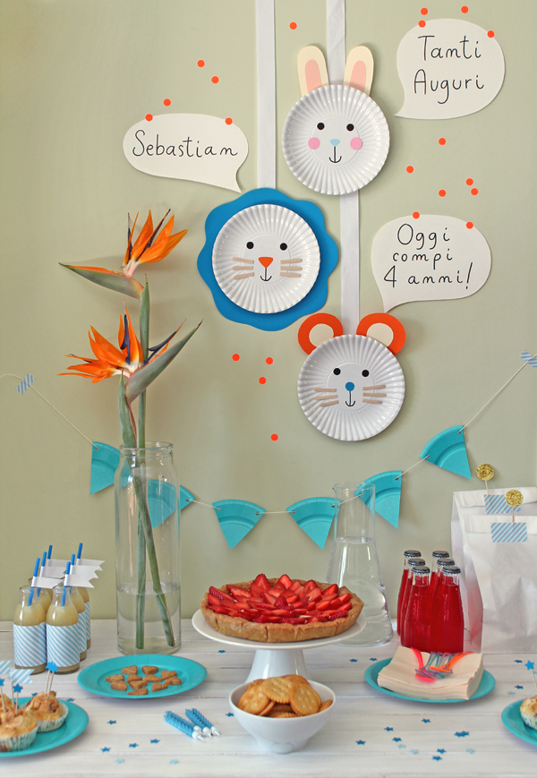 decorazioni di carta