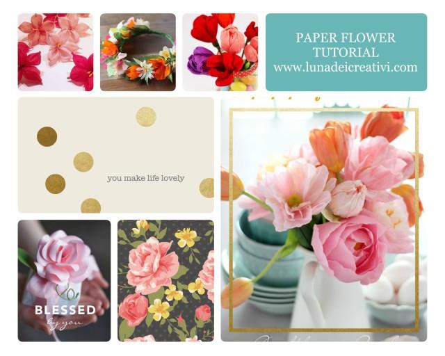 Flores de Papel: 10 Tutoriales que Molan un Montón!